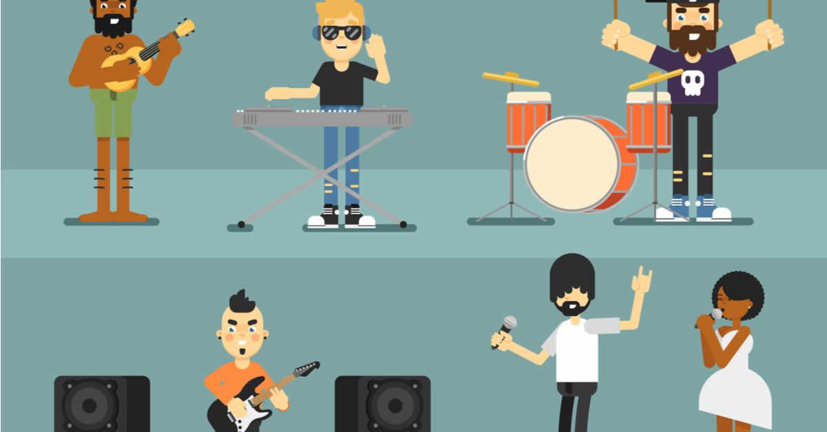 仮想通貨でアーティストに投げ銭ができる音楽投稿サイトtipmusic