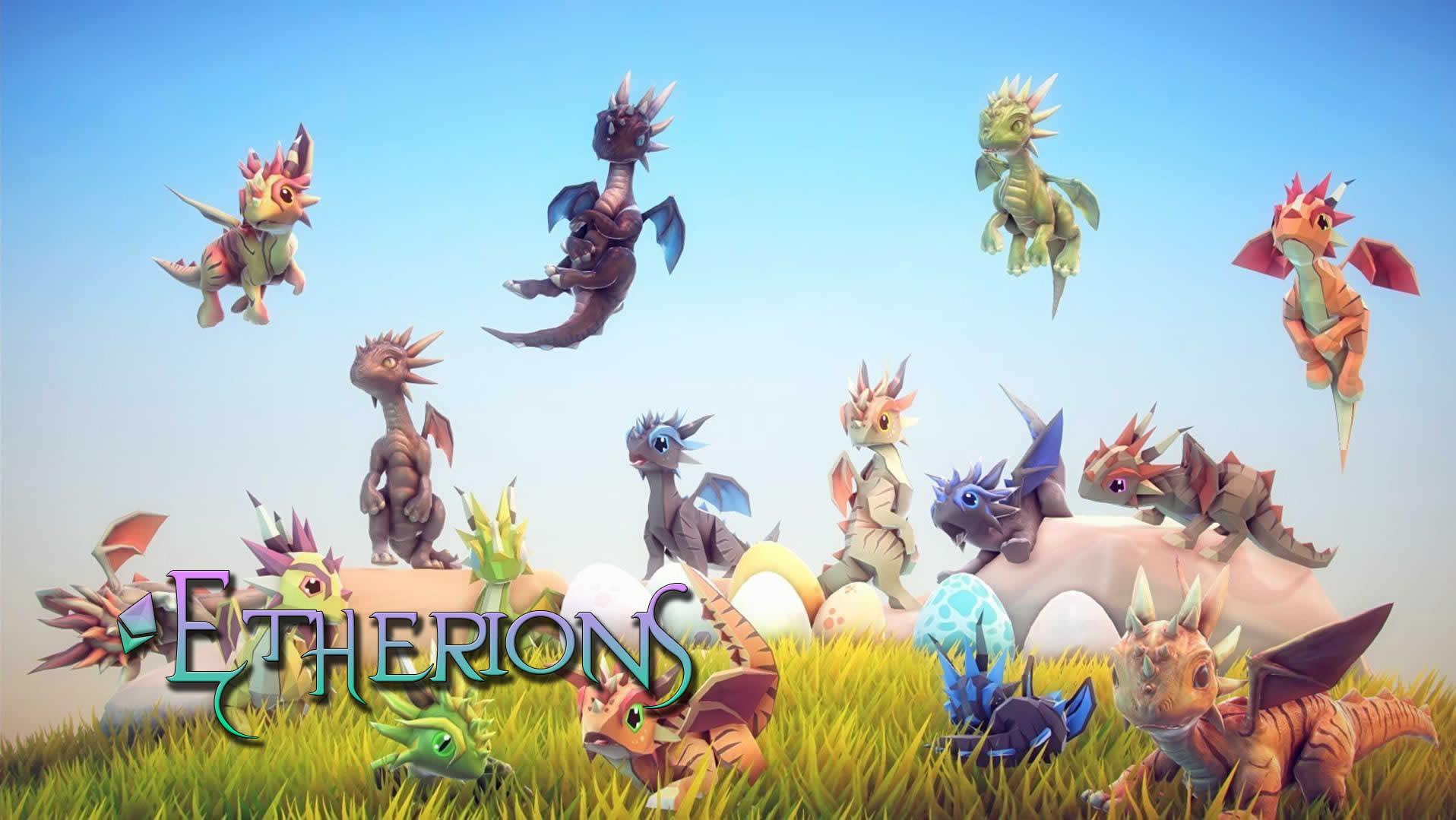猫の次は竜!?イーサリアムでドラゴンを育成するゲームEtherionsが登場