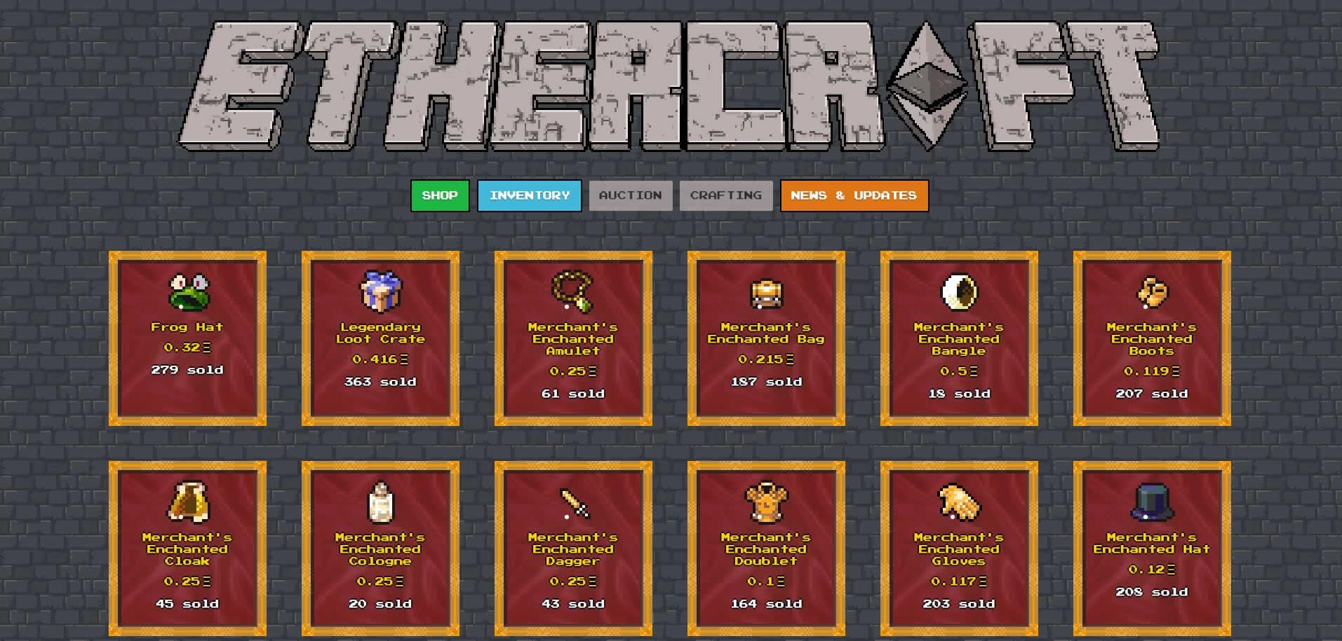 イーサリアムでマインクラフト!?分散型RPGゲーム『Ethercraft』が登場