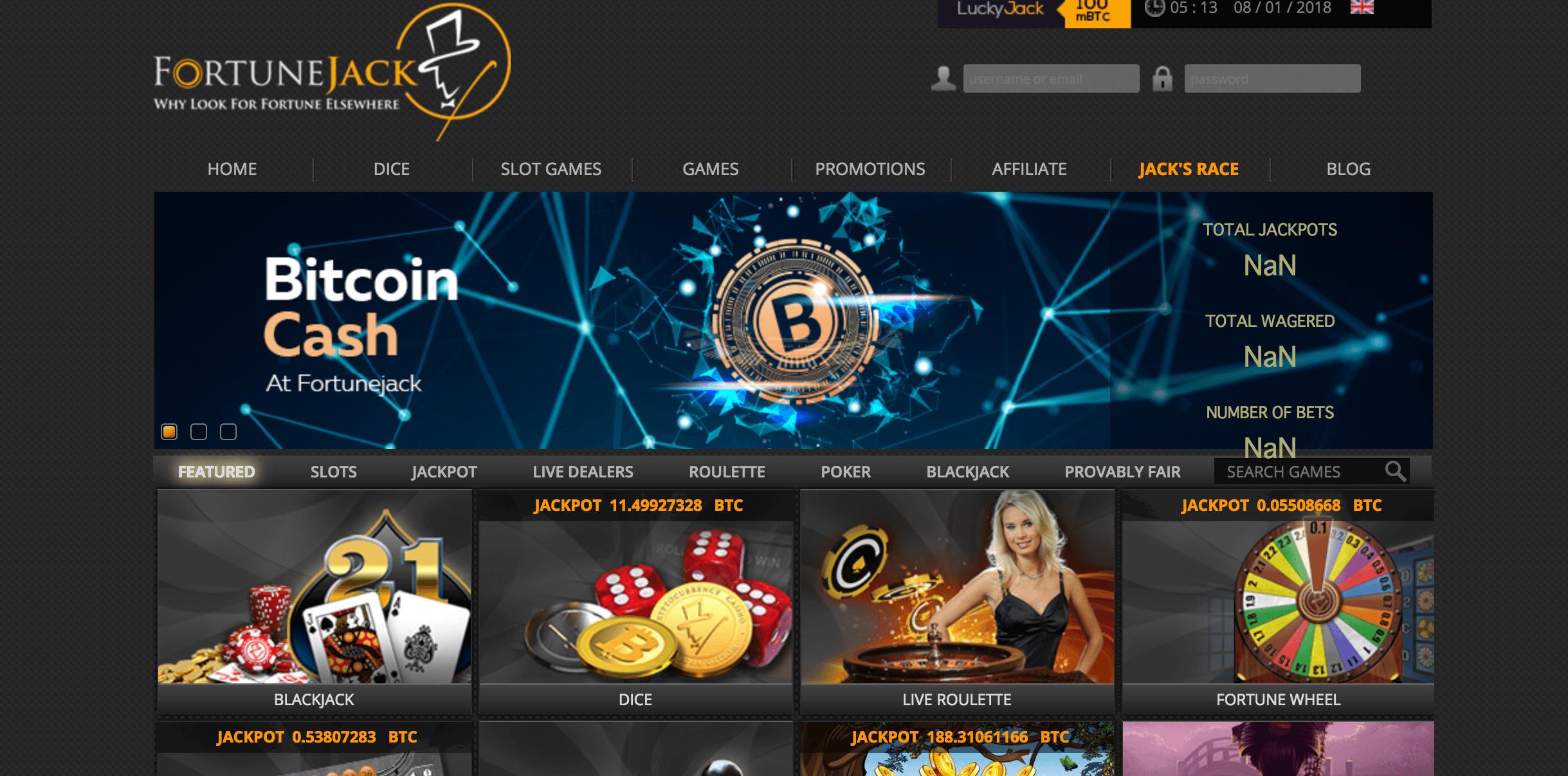 大手仮想通貨オンラインカジノでビットコインキャッシュが使用可能に