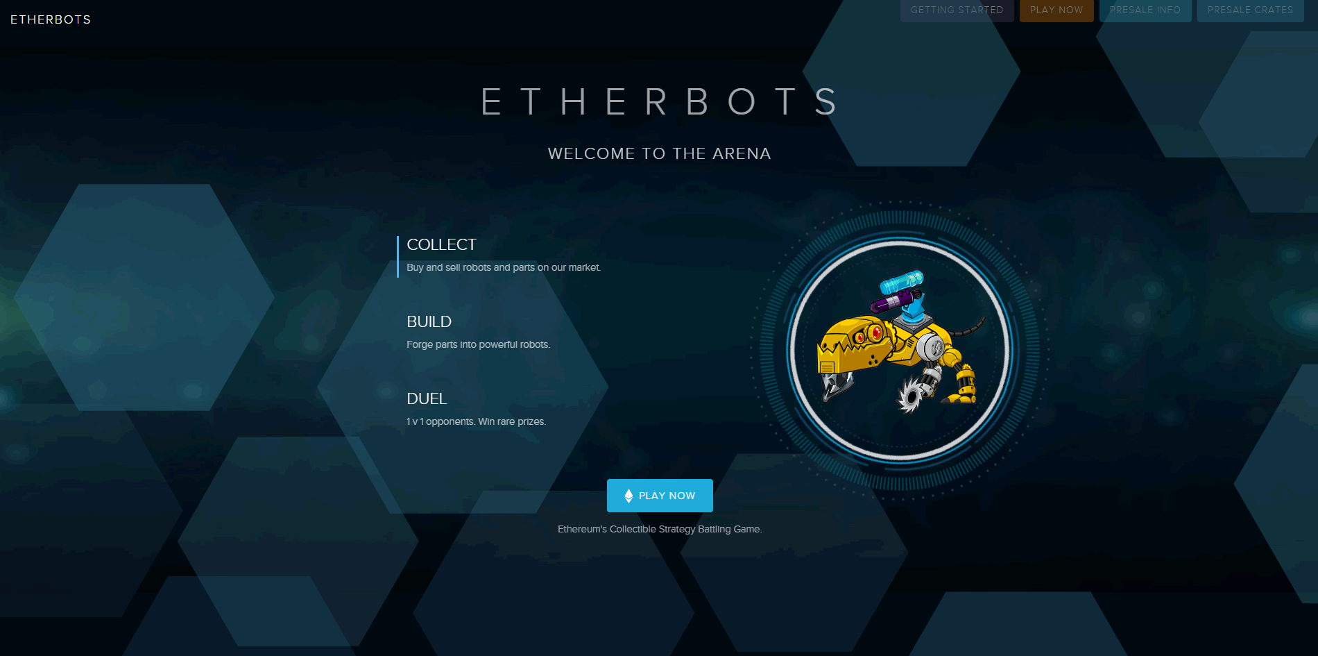 イーサリアムでロボット育成バトル!DApps「ETHERBOTS(イーサボット)」の特徴と遊び方は?