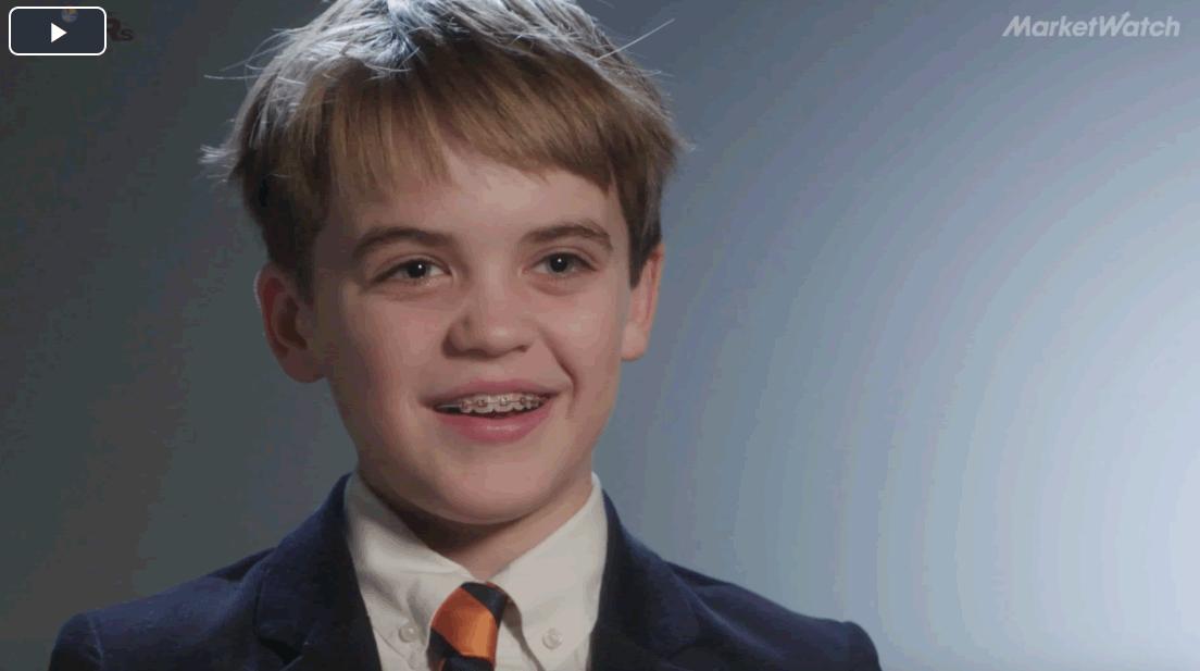11歳のCEO、仮想通貨でゲーム業界の問題解決へ