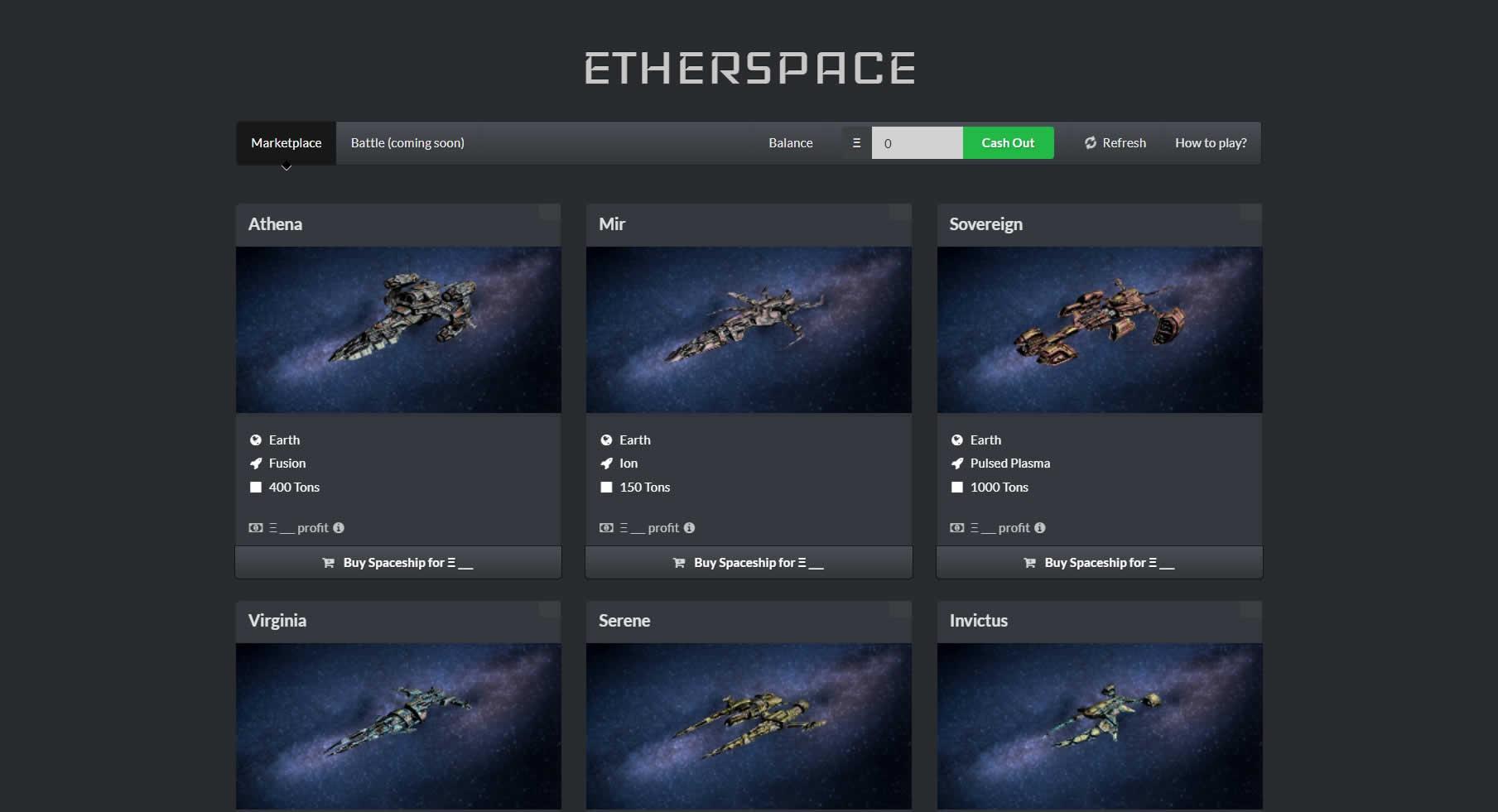 イーサリアムで宇宙を駆ける!DApps「EtherSpace(イーサースペース)」の特徴と遊び方は?