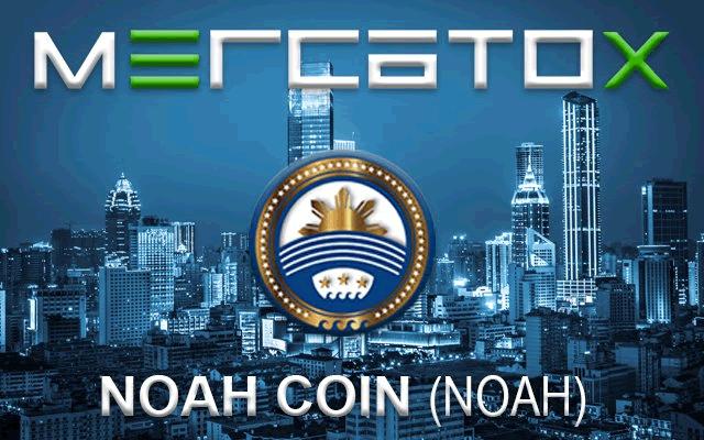 ノアコイン(NOAH)がMERCATOXとBTC-Alphaに上場で高騰中!
