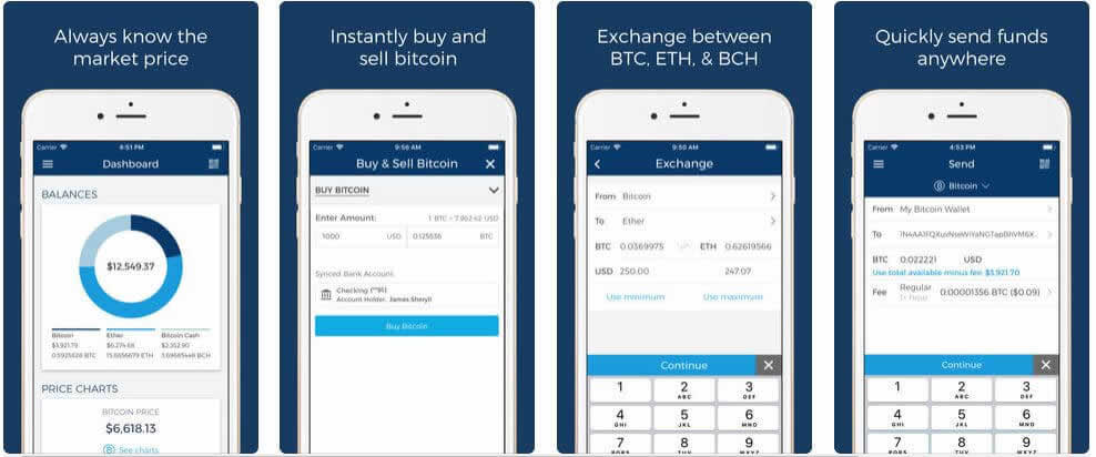 仮想通貨取引の便利アプリ!『Blockchain – Bitcoin Wallet』の特徴や使い方は?