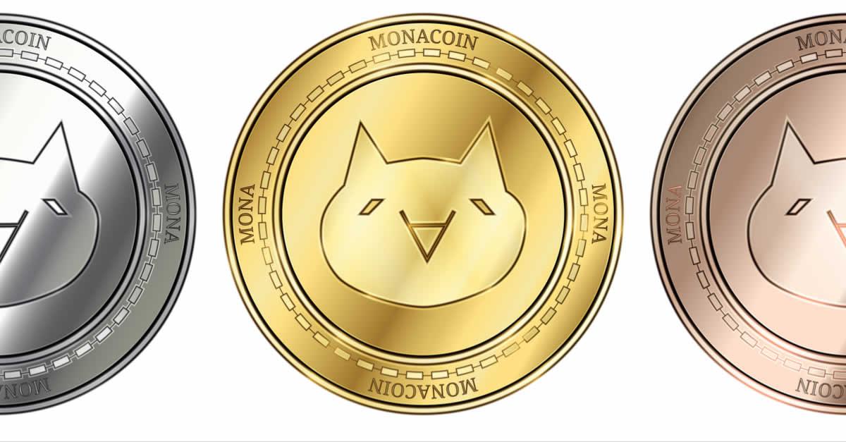 モナコインが純金のリアルコインに!?「ゴールドフェスティバル2018」にて展示
