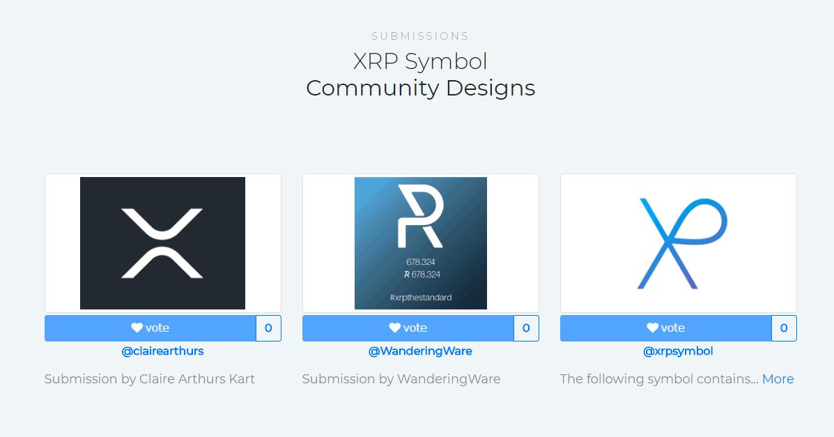XRPの新たなシンボルデザイン、遂に最終投票がスタート!