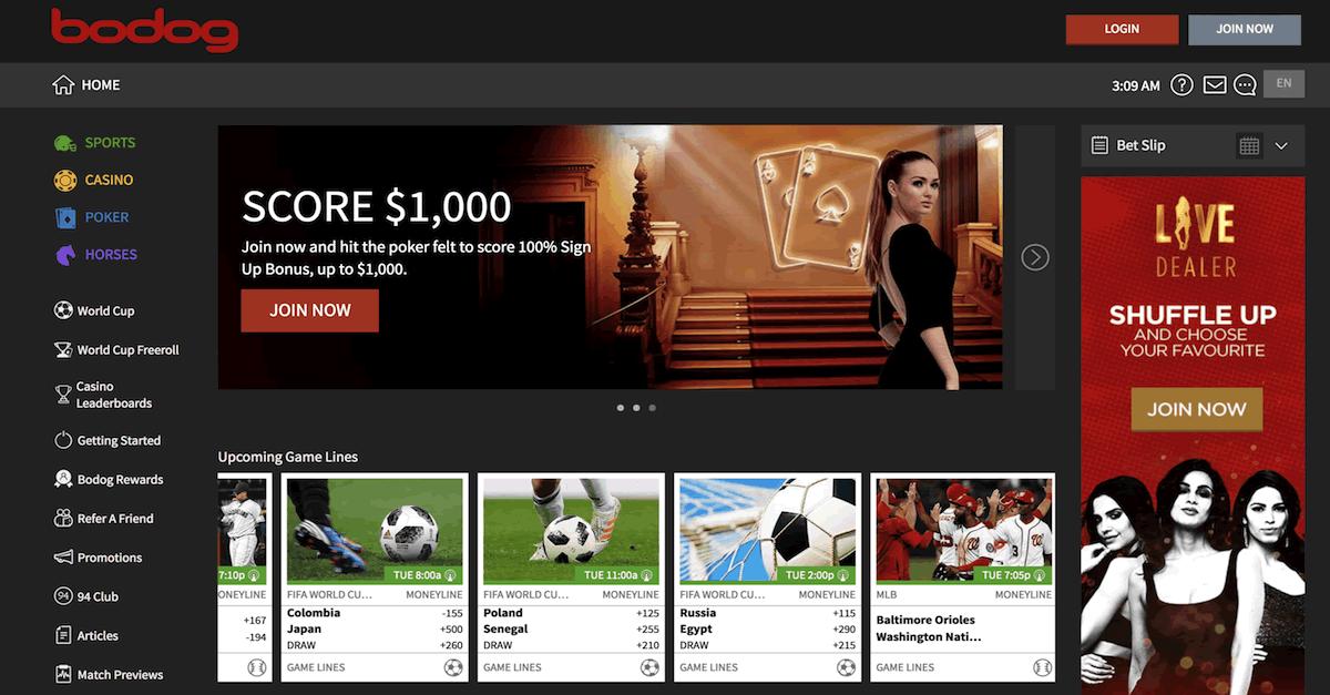 カナダのギャンブルサイトBodog.euがビットコインキャッシュ決済に対応!