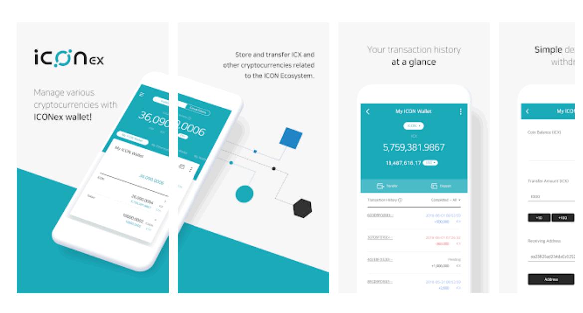仮想通貨アイコン(ICX)とイーサリアム(ETH)対応のウォレットアプリ『ICONex』リリース