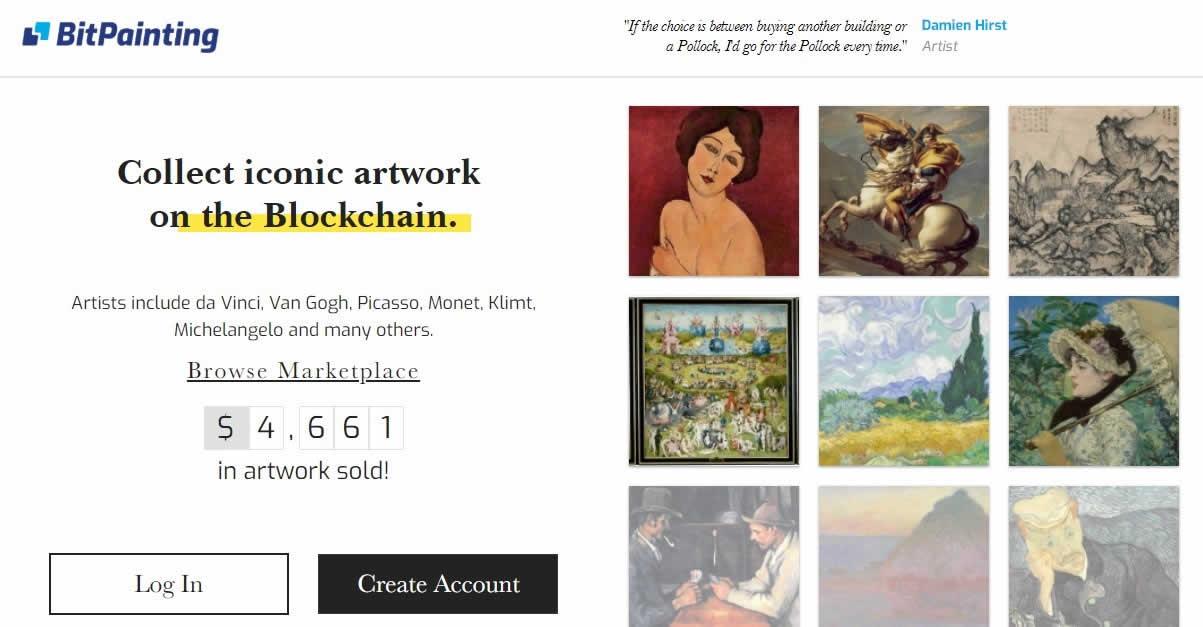 イーサリアムで絵画コレクション!?DApps「BitPainting(ビットペインティング)」の特徴と遊び方は?