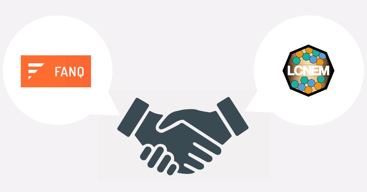 トークンエコノミー「FANQ」とスタートアップ企業のLCNEMが提携!共同で実証実験実施へ