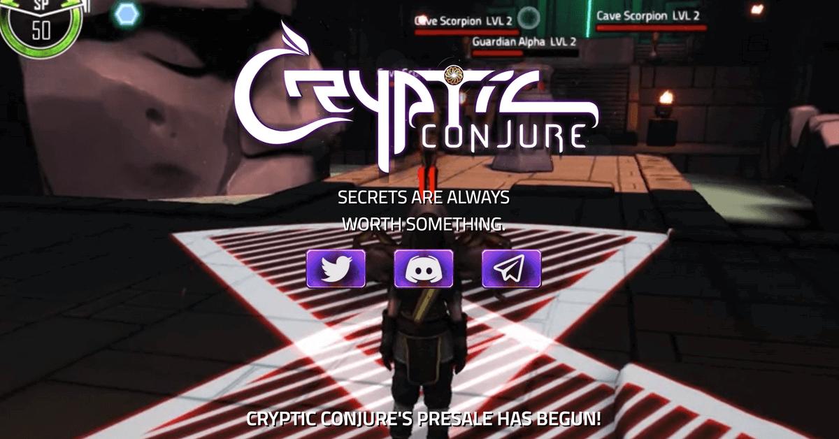 DApps「Cryptic Conjure」のデモ版がリリース!