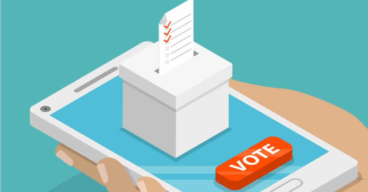 アメリカの中間選挙でブロックチェーン活用投票アプリ導入へ!