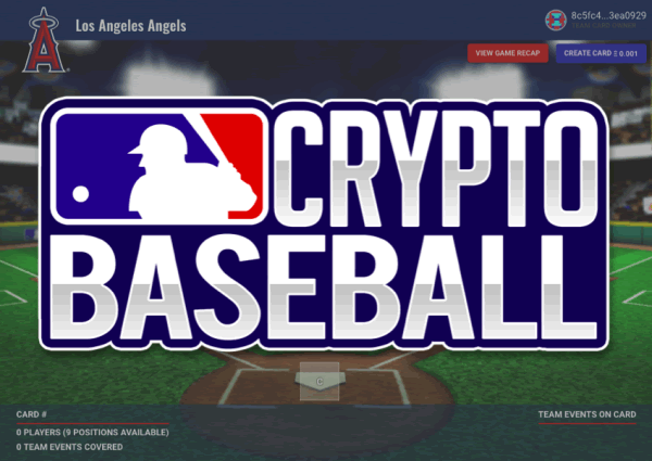 MLB Cryptobaseballが開幕!メジャーリーグが好きならプレイしてみよう