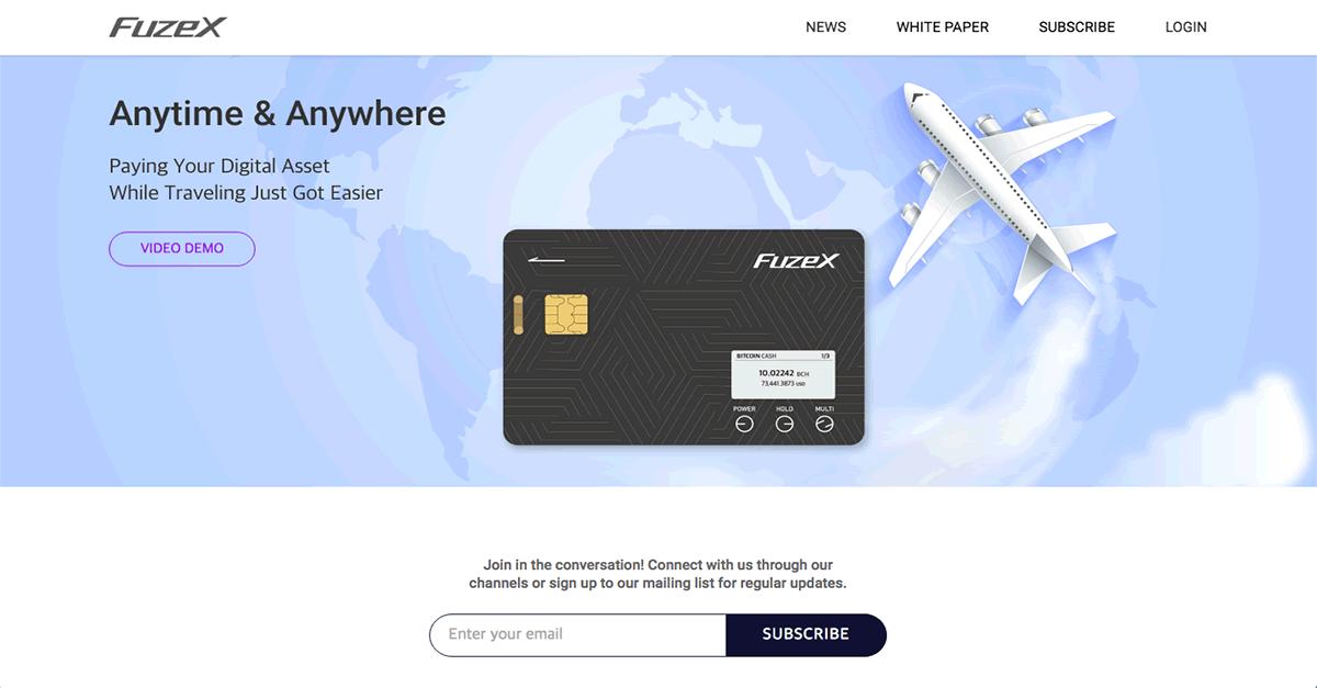 仮想通貨に対応する決済カード「Fuzex(ヒューズエックス)」とは