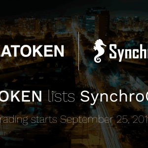 トークンエコノミー型グルメSNS「シンクロライフ」のシンクロコイン(SYC)が暗号通貨取引所LATOKENに上場決定!