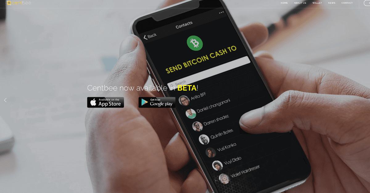 ビットコインキャッシュウォレットアプリ「Centbee」ベータ版がリリース!電話番号を利用しわずか数タップでBCHを送金