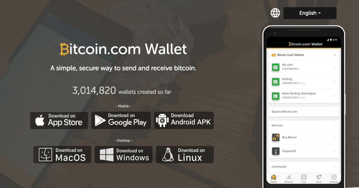 ウォレット「Bitcoin.com Wallet」が300万ダウンロード達成!ビットコインキャッシュ(BCH)のプレゼントも