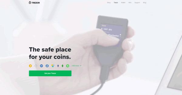 ハードウェアウォレット「Trezor(トレザー)」で仮想通貨取引機能追加!アカウント作成から取引までウォレット内で完結