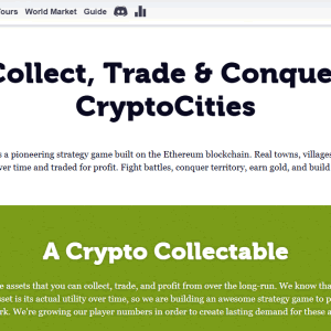 イーサリアムで都市間バトル!?DApps「CryptoCities(クリプトシティーズ)」の特徴と使い方は?