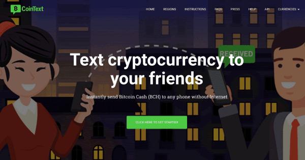 ビットコインキャッシュ(BCH)送金アプリ「CoinText」がライトコイン(LTC)とダッシュ(DASH)に対応!