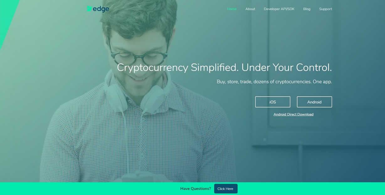 仮想通貨モバイルウォレット「Edge Wallet」の特徴やメリット、ダウンロード方法は?