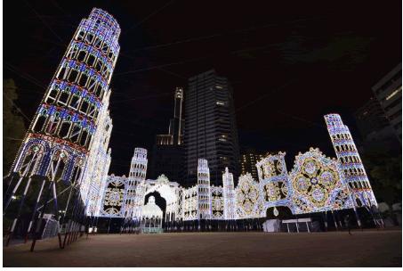 阪神・淡路大震災の犠牲者に鎮魂の想いを込た「第24回神戸ルミナリエ」消灯式にキャッシュレス決済を初導入