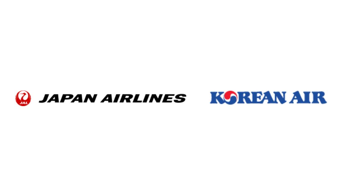 JAL(日本航空)とKAL(大韓航空)、搭乗によるマイルの相互積み立てが可能に!