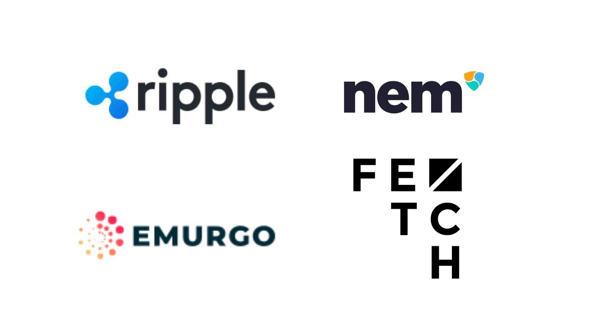 リップル(XRP)、カルダノ(ADA)、ネム(XEM)、Fetch.AIが「Blockchain for Europe」を結成!