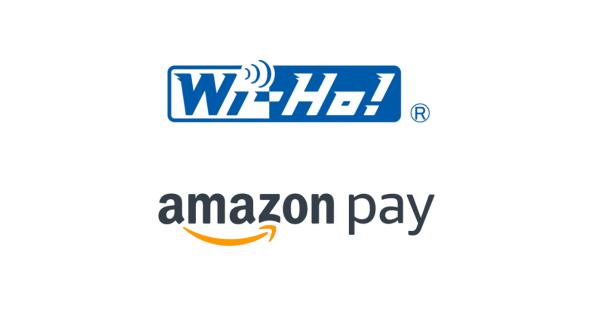 海外用格安Wi-Fiレンタルサービス「Wi-Ho!(ワイホー)」で「Amazon Pay」決済導入!1,000円分のAmazonギフト券プレゼントも