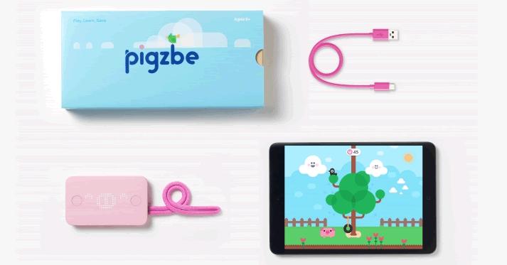 仮想通貨や電子マネーを管理する子ども向けデバイス「Pigzbe(ピグズビー)」登場!