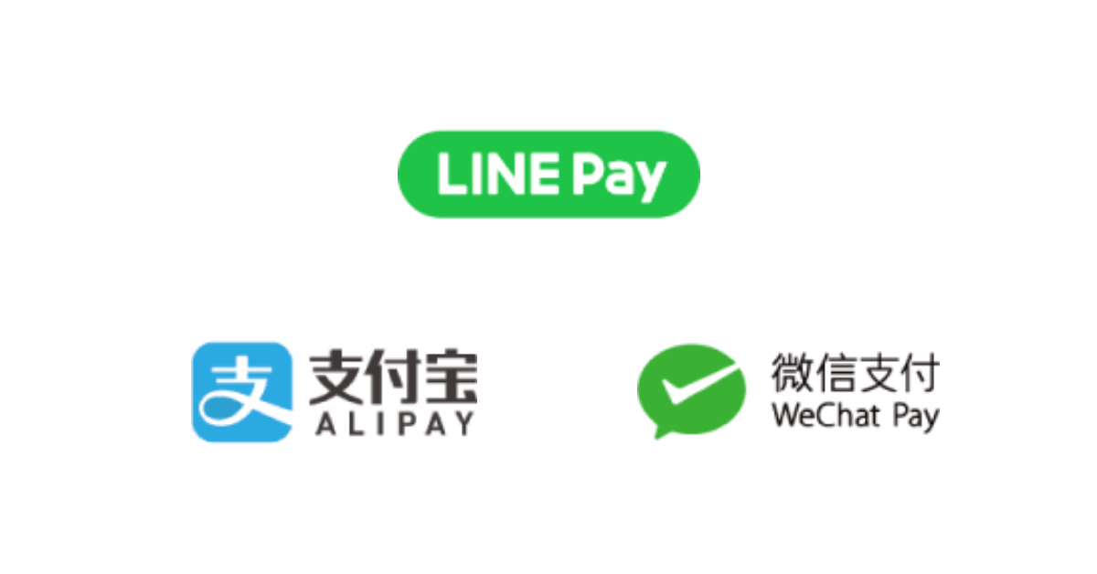 MKタクシー、QRコード決済「LINE Pay」「Alipay(支付宝)」「WeChat Pay(微信支付)」取扱い開始
