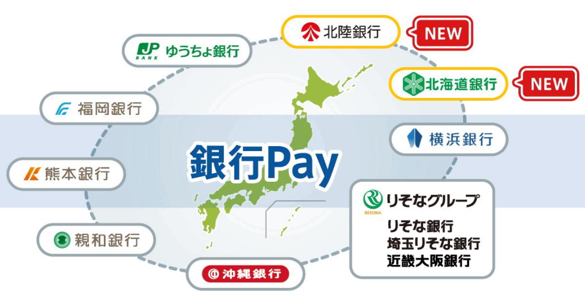 GMO-PG、「銀行Pay」を北海道銀行・ 北陸銀行に提供 スマホ決済サービス「ほくほくPay」の取扱開始