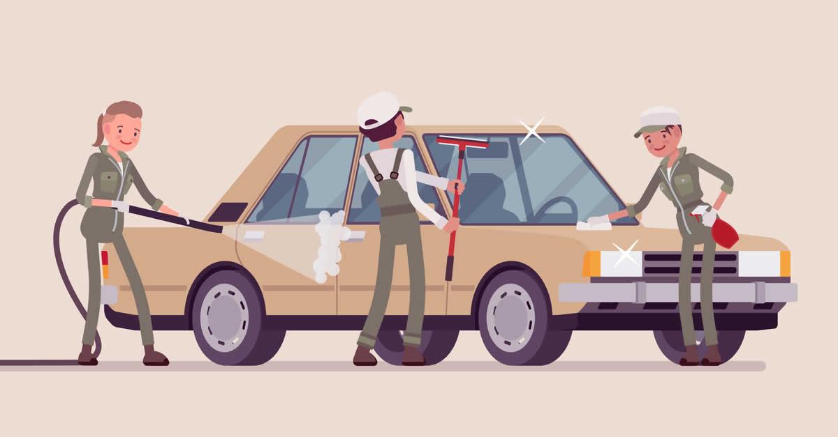 手間がかかる洗車を駐車中におまかせ 駐車場シェアリング「Smart Parking」、「Smart Car Wash」を開始
