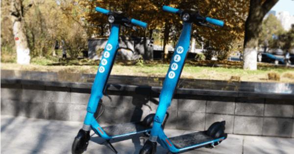 ドイツのシェア電動スクーター「WIND」、千葉市花見川緑地交通公園で試乗体験会実施