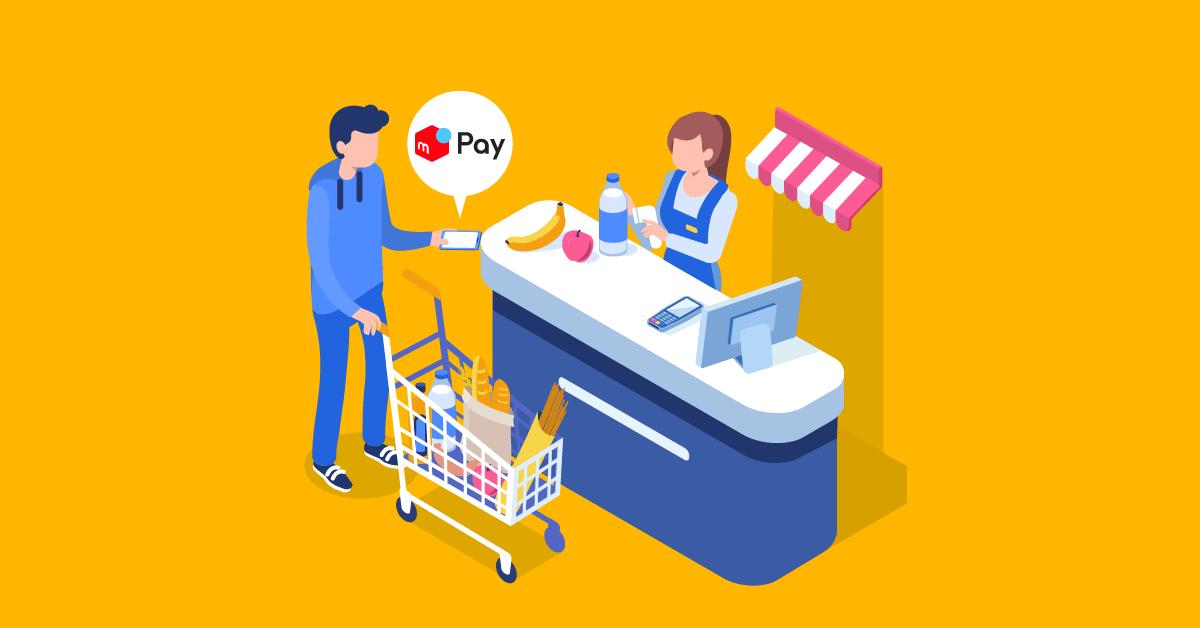 メルペイに銀行口座の登録やiDと連携する方法は?使えるお店が全国135万か所に!