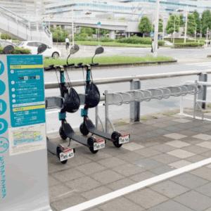 シェア電動キックボードサービス「WIND」、JR海浜幕張駅周辺に3カ所のステーションを追加