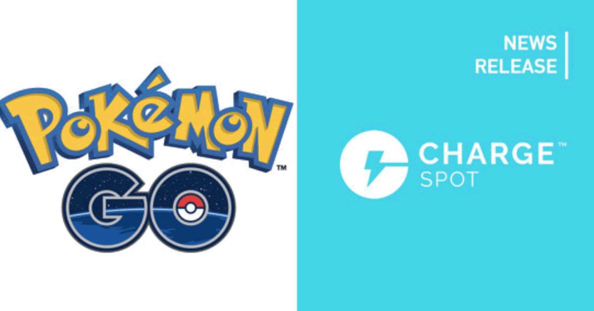 スマホ充電器のシェアリング「ChargeSPOT」がポケモンGOの公式パートナーに ポケストップで無料クーポン配信中