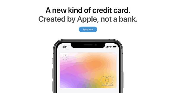 アップルのクレジットカード「Apple Card」、アメリカでサービス開始