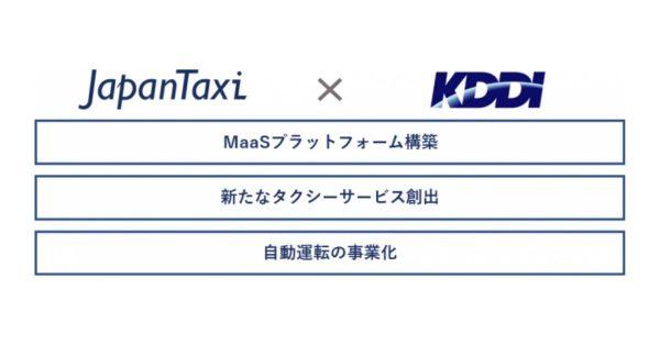 JapanTaxiとKDDIが資本提携 MaaS、自動運転などで連携強化