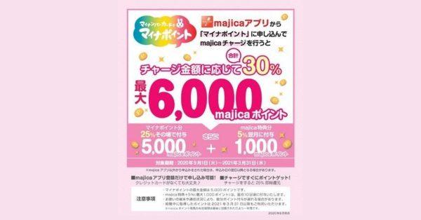 ドン・キホーテの電子マネーmajica、マイナポイント申込みで最大6,000円相当プレゼント