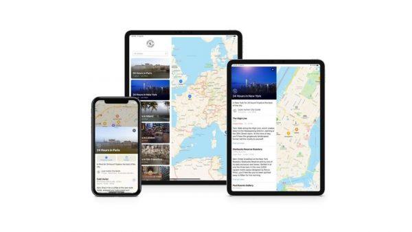「ルイ・ヴィトン シティ・ガイド」紹介スポットがiPhone、iPad、Macのマップに掲載