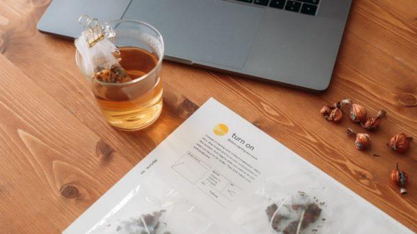 仕事のオン・オフ切替に着目したノンカフェインのお茶