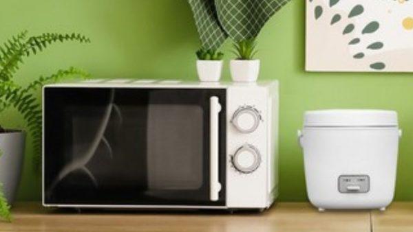 最短約15分でご飯が炊ける。一人暮らしサイズの炊飯器