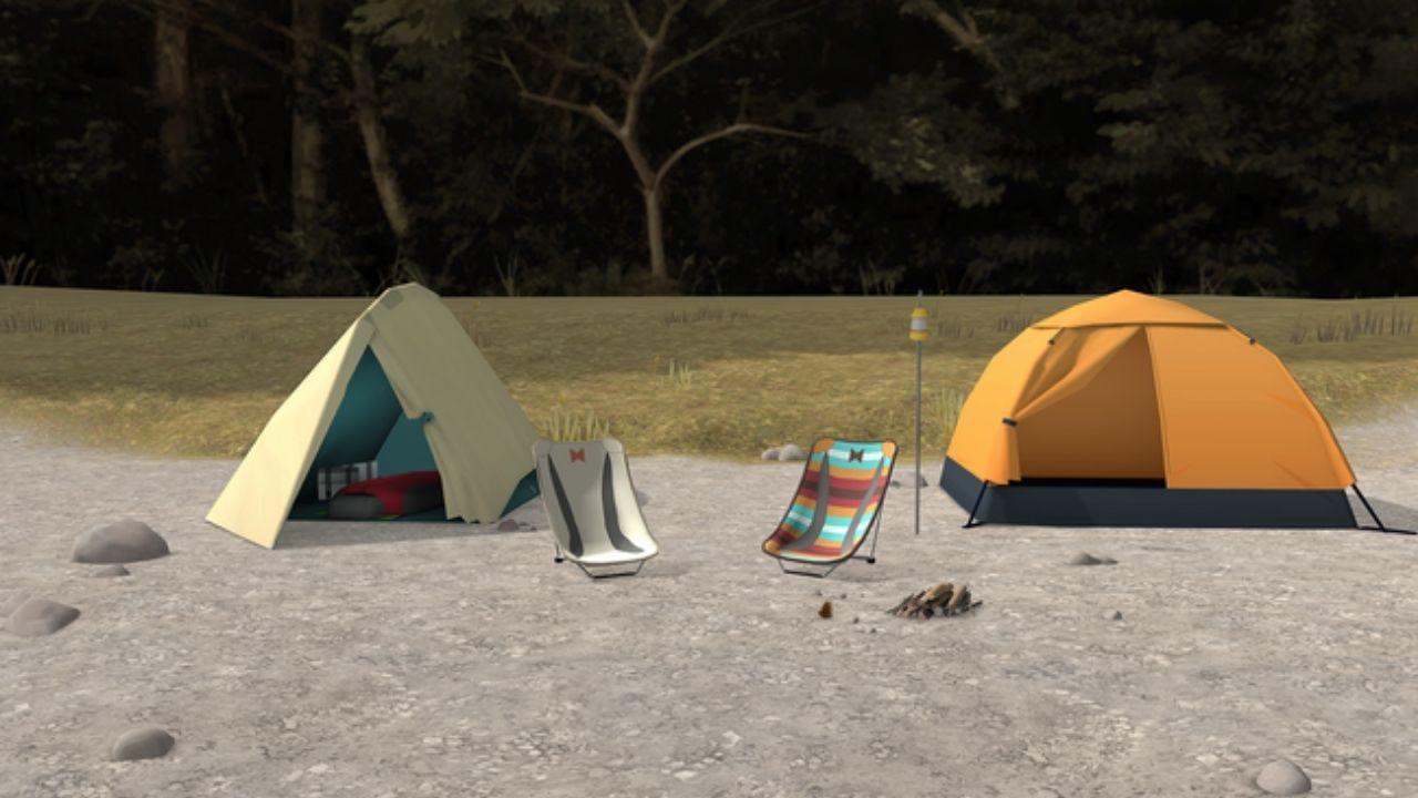 ゆるキャン△がVRゲームに!なでしこ、リンと本栖湖でまったりキャンプ