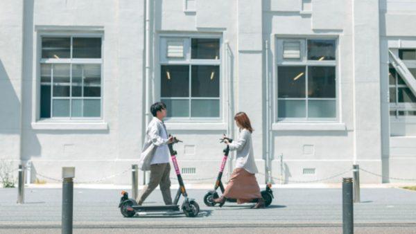 【明日開始】電動キックボードシェアリングmobby、福岡の公道でヘルメット着用任意の実証実験
