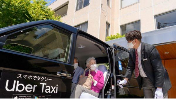Uber、高齢者向けにワクチン接種会場へのタクシーを無料に
